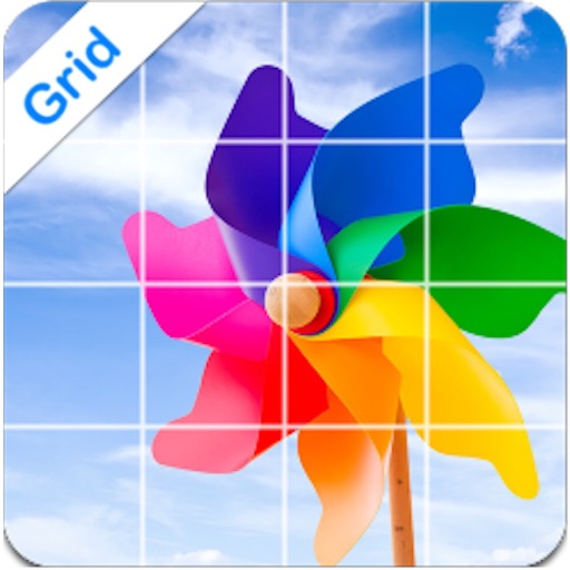 InstaGrid Grid on Photo for Instagram-Share ig Pic