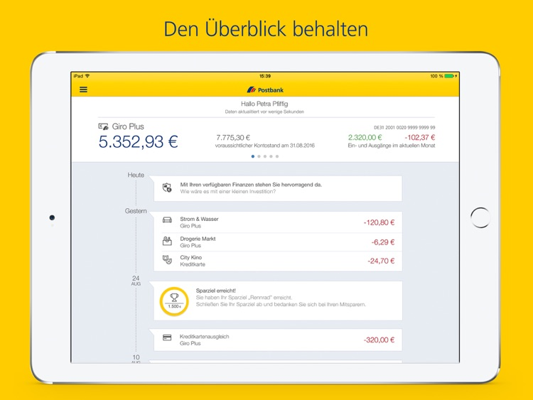 Postbank Finanzass. für iPad screenshot-0