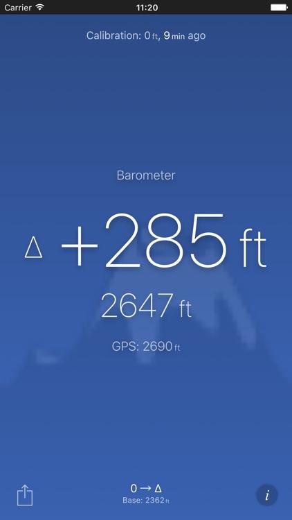 Altimeter (Barometer) Free screenshot-3