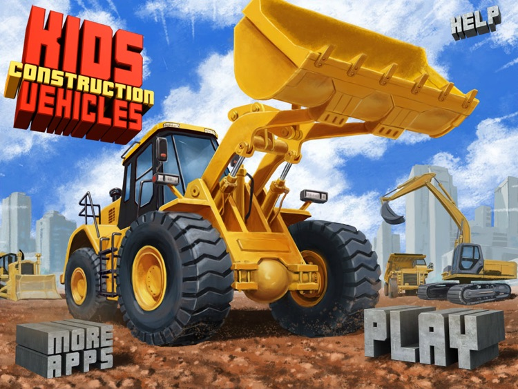 Kids Vehicles: Construction HD for the iPad screenshot-4