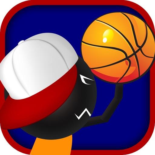 Real Stickman Basketball - Perfect Stick Man Free Throw Showdown iOS App