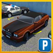 多级跑车停车模拟器:现实生活中的赛车游戏 多人游戏