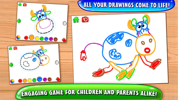 Learn to draw! Educational games for Kids Toddlers