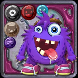 Bubble Shooter Monster Pop