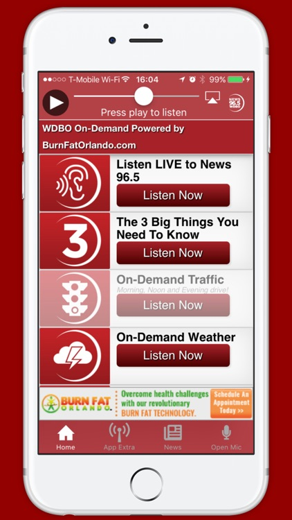 News 96.5 (WDBO-FM), Orlando screenshot-3