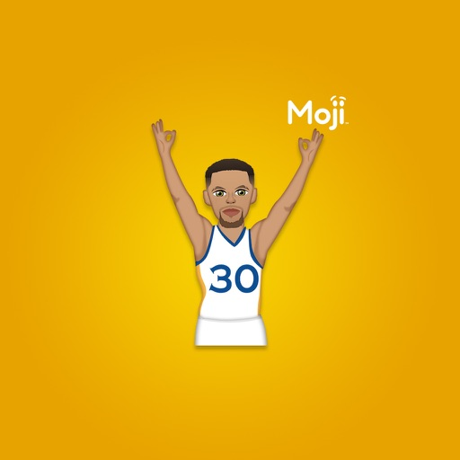 Steph Curry ™ by Moji Stickers