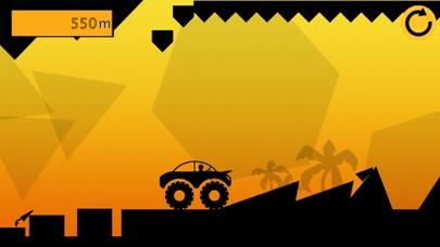 Black Car Hill Racer : Offroad Monster Truck Games