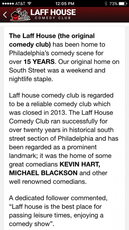 Laff House Comedy