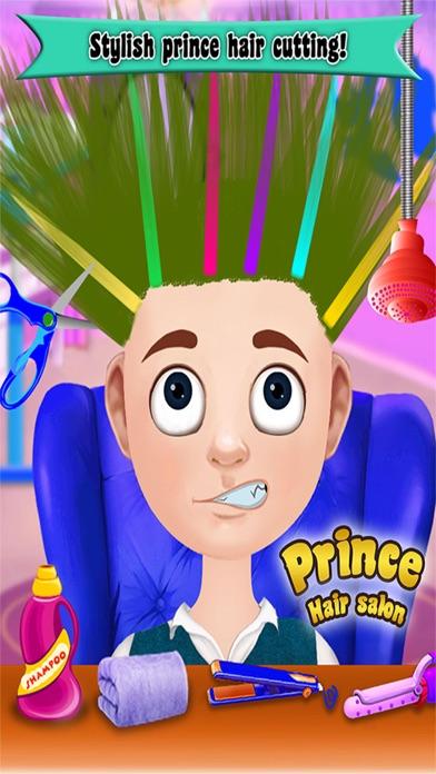 Prince Hair Salon: Hair salon games for girls-3