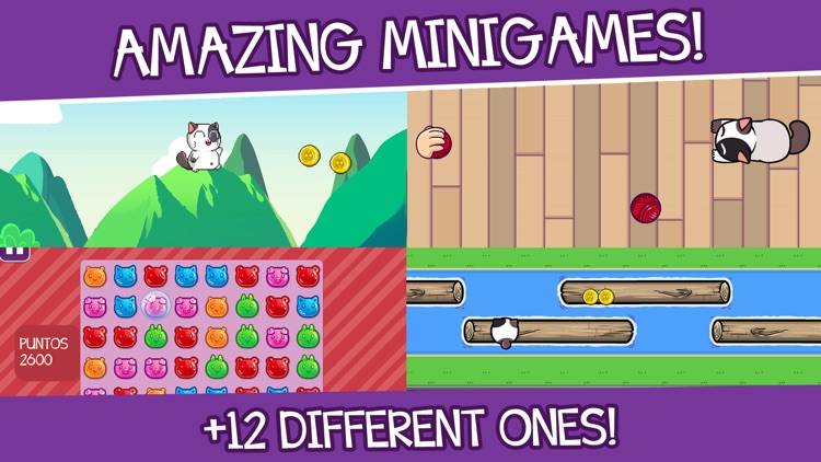 Mimitos Cat - Pet & Minigames