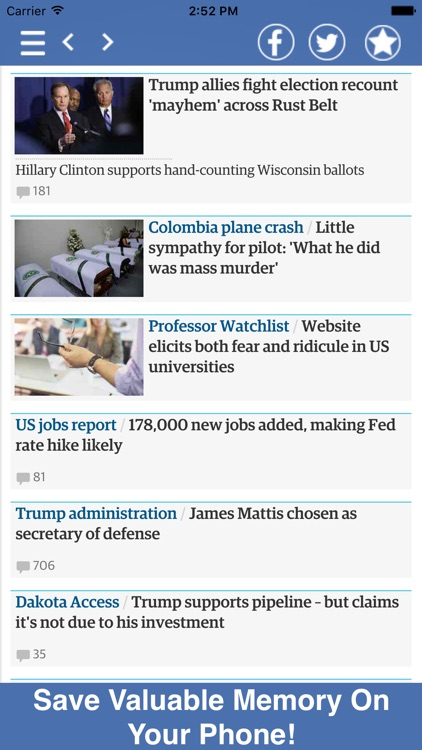 News All In One - Politics, Business, & More! screenshot-3