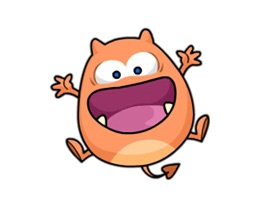 Chubby Monster - Cute stickers for iMessage