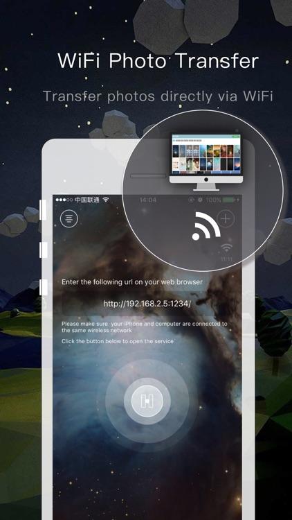 Photo Transfer-share it phhhoto wifi backup vault