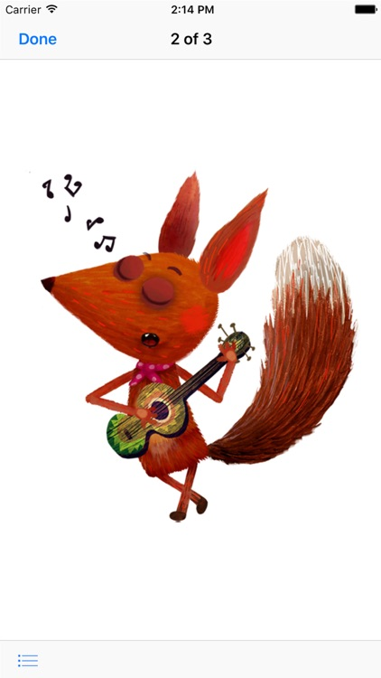 Little Fox Stickers screenshot-1