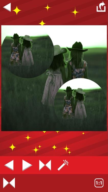Mirror Reflection Photo Editor–Blend & Split Pics screenshot-3