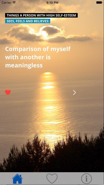 Self Esteem Daily Affirmations