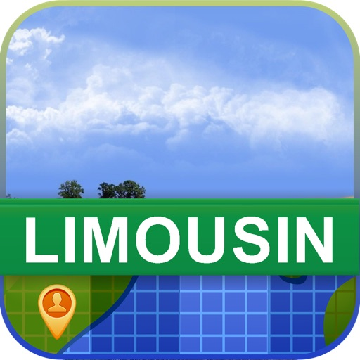 Offline Limousin, France Map - World Offline Maps icon