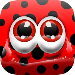 Flappy LadyBug - Tap and Flap Adventure Maze