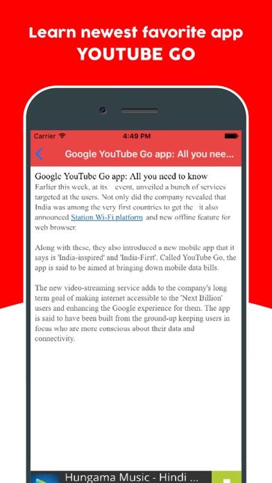 Guide for Youtube Go - Learn Offline Youtube App screenshot three