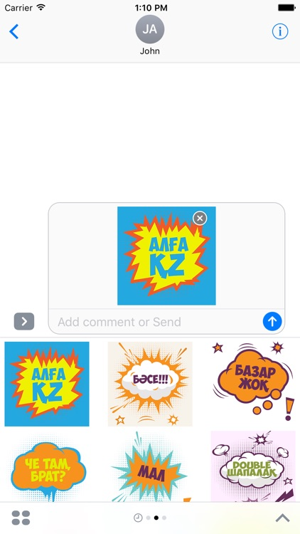 KZ Sticker - Stickers for iMessage screenshot-2