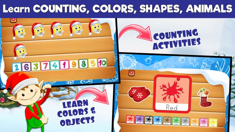 Preschool Learning Games - Christmas Edition screenshot-3