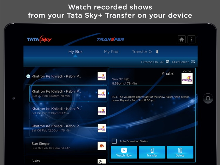 Tata Sky Mobile – for iPad screenshot-3