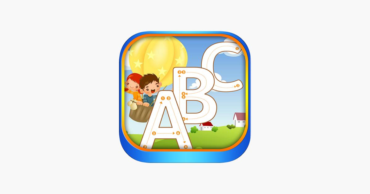alphabet lernen spiel f r klein kinder im app store. Black Bedroom Furniture Sets. Home Design Ideas