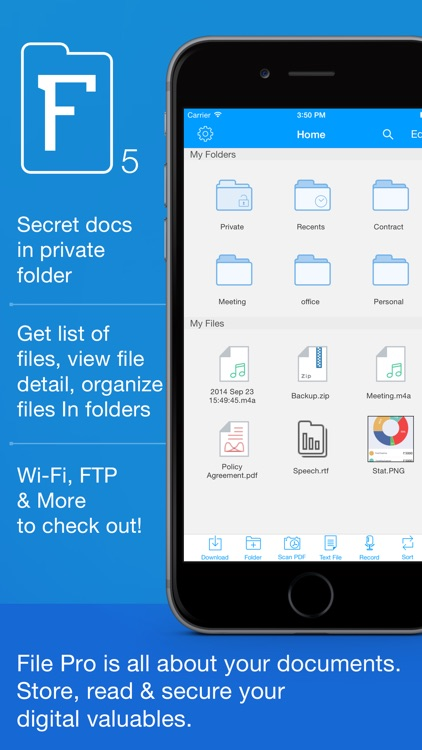 File Pro - Easy Files & PDF screenshot-0