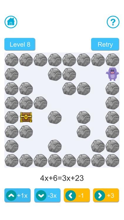 Algebra Maze screenshot-4