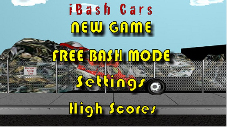 iBash Cars Lite screenshot-0
