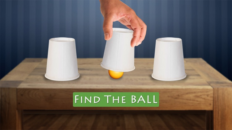 Whack The Cup - find the hidden ball