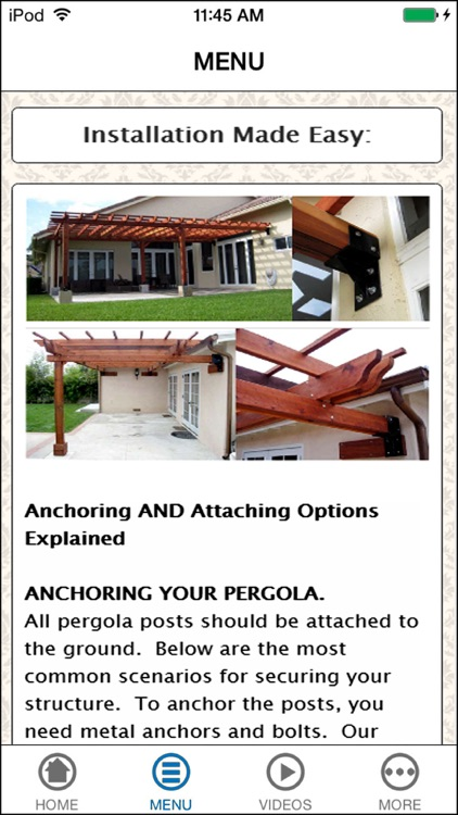 How To Build A Pergola - Learn From Professional screenshot-3