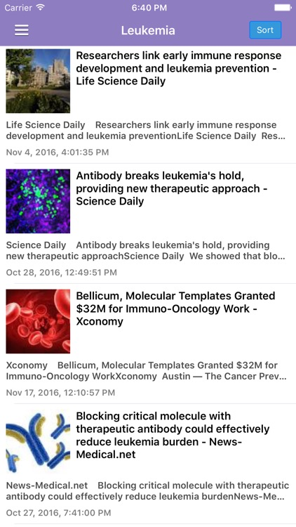 Cancer Research News & Prevention Info Free screenshot-3