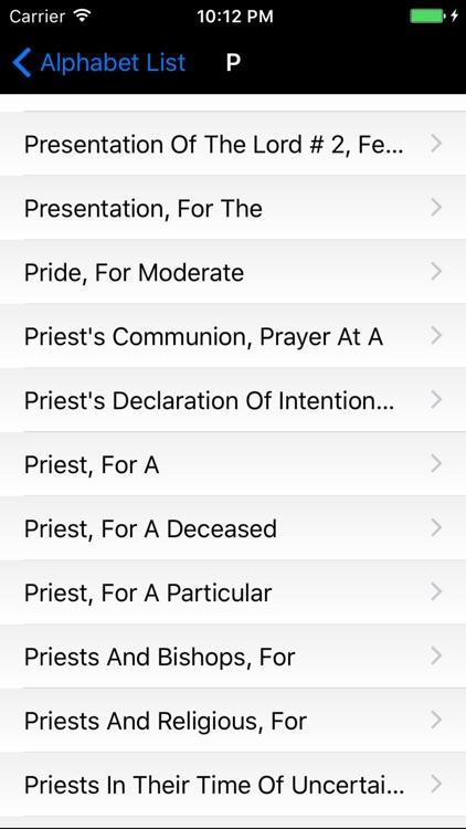 Mass Reading Lectionary & Prayers Collection screenshot-3