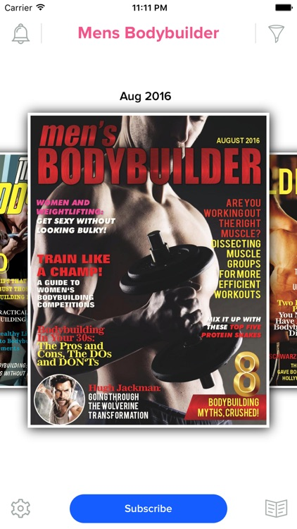 Men's Bodybuilder Mag