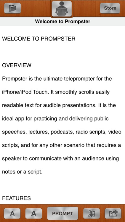 Prompster Pro™ - The Teleprompter