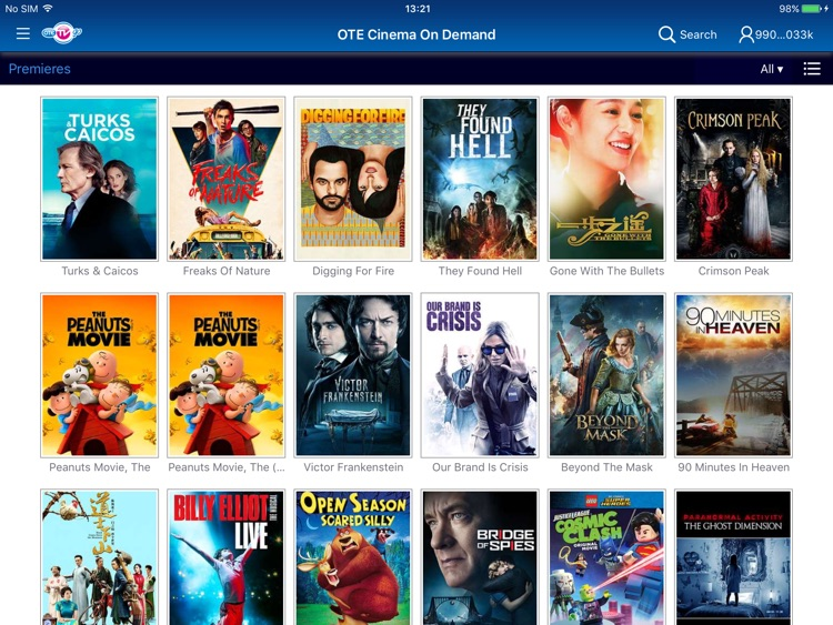 COSMOTE TV GO (for iPad) screenshot-3