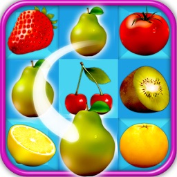 Fruity Connections Puzzle Game for kids
