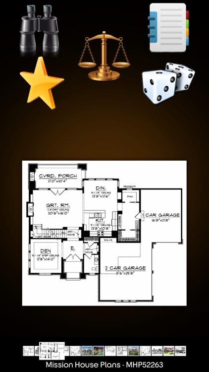 Mission House Plans Details!