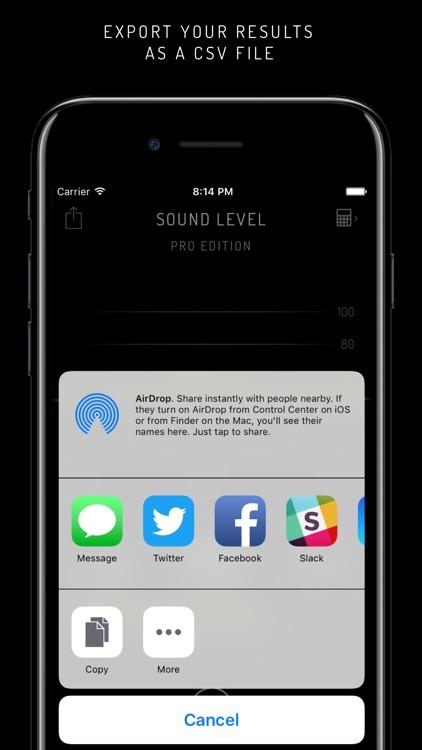 SoundLevel Free screenshot-3