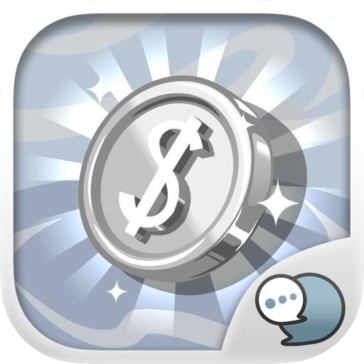 Metallic Emoji Sticker Keyboard Themes ChatStick