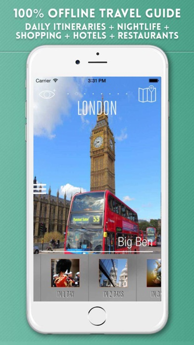 London Visitor Guide screenshot one