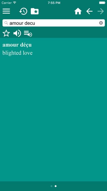 French-English Dictionary screenshot-3