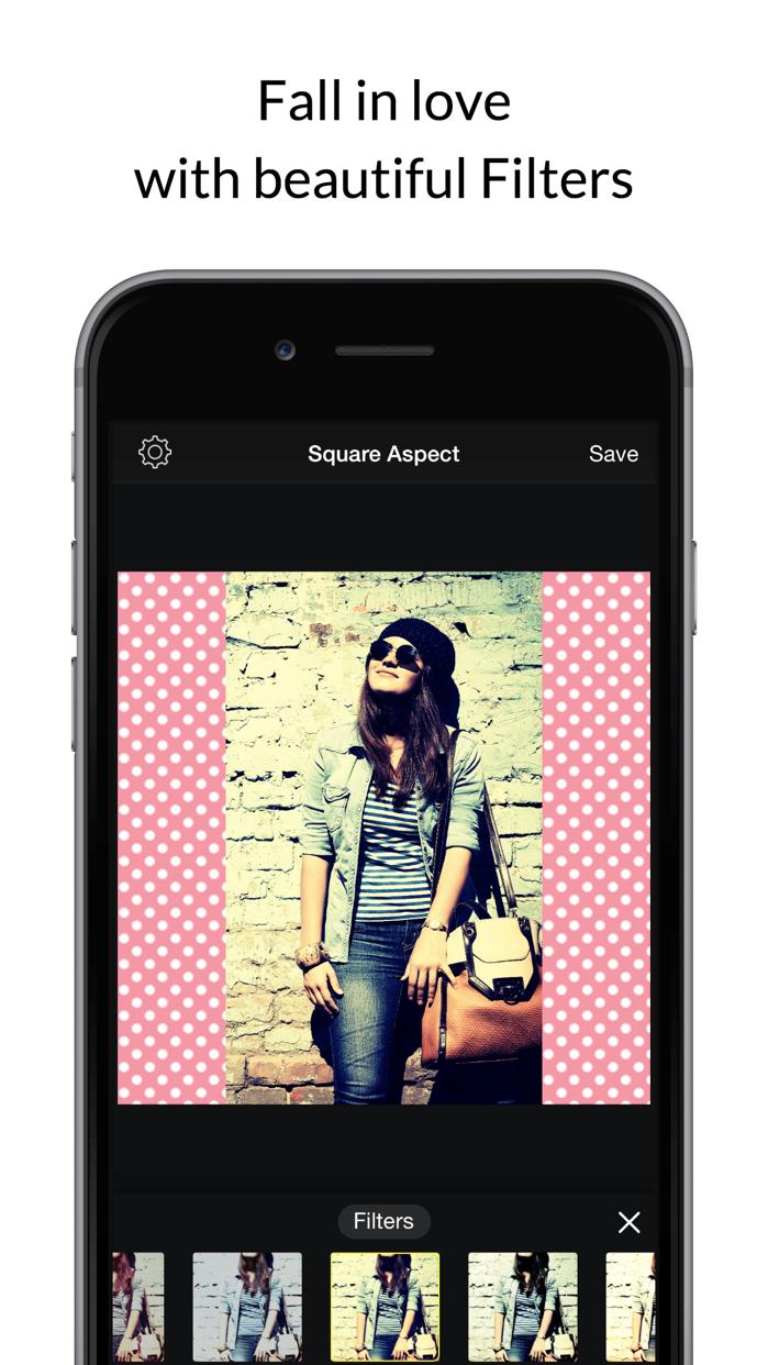 Square Fit Photo Video Editor Screenshot