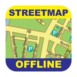 Brussels Offline Street Map