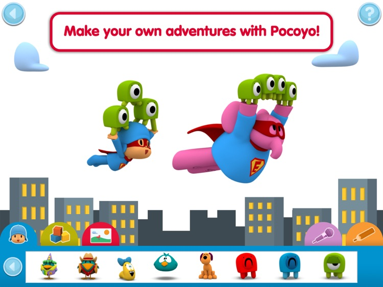 Pocoyo Playset - Sort It!