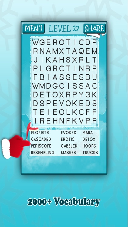 Christmas Word Search Fun screenshot-4