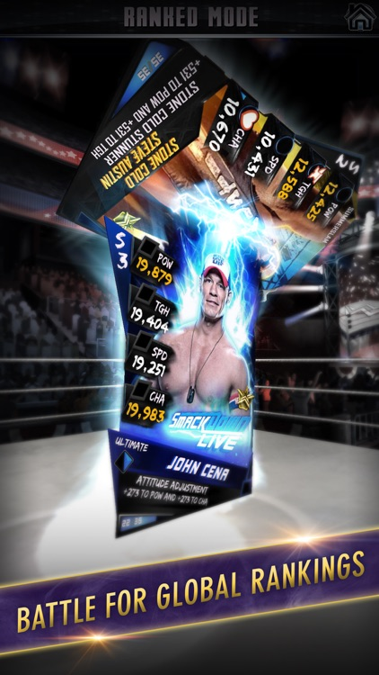 WWE SuperCard: Wrestling Action & Card Battle Game screenshot-3