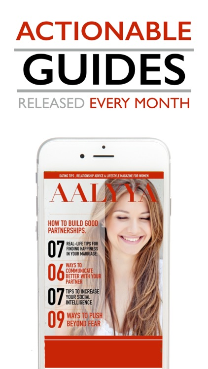 AALYYA : Dating, Relationship & Self-Help Magazine screenshot-3
