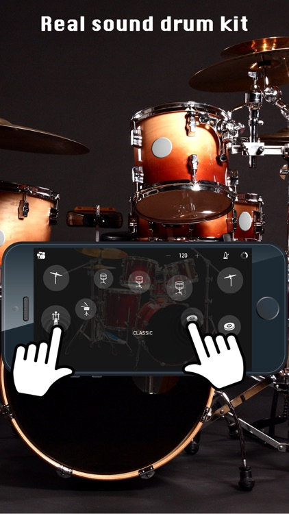 DRUM KIT - PRO screenshot-0